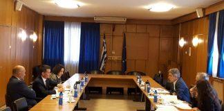 Συνάντηση γενικού γραμματέα Χ. Κασίμη με Γαλλική αντιπροσωπεία