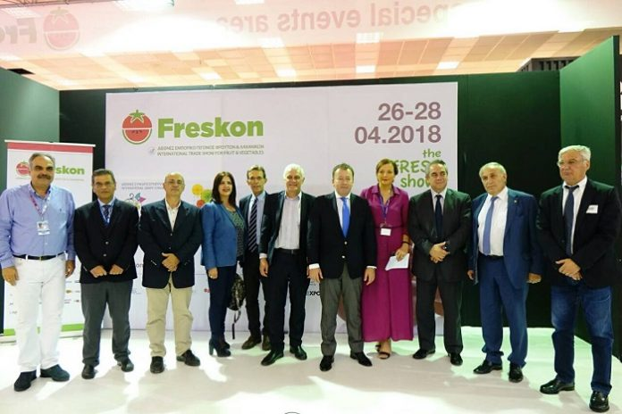 Εγκαίνια 4ης Freskon: Στοίχημα η αγροτική παραγωγή «υψηλών πτήσεων»