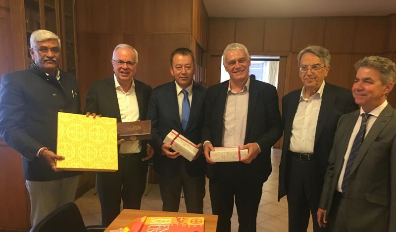 Επίσκεψη Ινδού Υπουργού Γεωργίας στο ΥΠΑΑΤ - Αύξηση των εξαγωγών στην Ινδία επιδιώκει η Ελλάδα