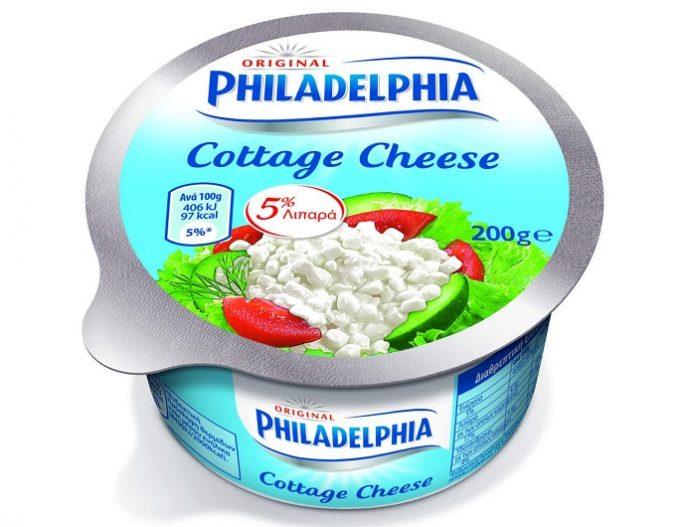 Εθελοντική ανάκληση του τυριού Cottage Cheese Philadelphia από την Mondelez