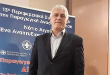 """""""Το μέλλον της Ελλάδας είναι ο πρωτογενής τομέας"""" δήλωσε ο Γ. Τσιρώνης στη Ρόδο"""
