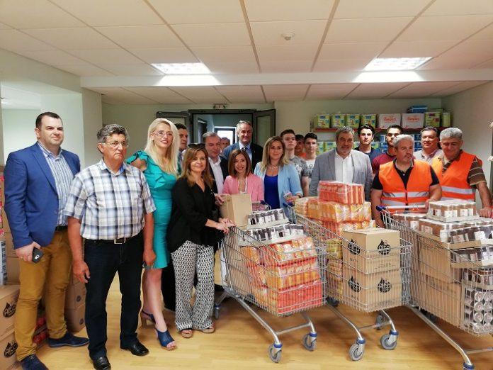 ΑΓΣ: Παράδοση προϊόντων στο κοινωνικό παντοπωλείο Πυλαίας-Χορτιάτη