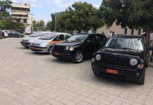 Εύβοια: Παράδοση τεσσάρων οχημάτων σε πυροσβεστική και αστυνομία