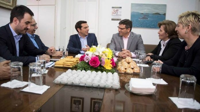 Λήμνος: Συνάντηση του Αλ. Τσίπρα με τον δήμαρχο και φορείς της Μύρινας