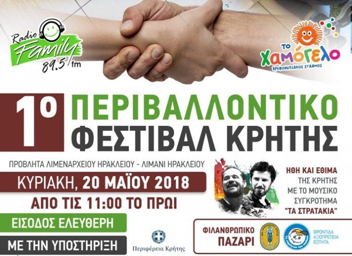 Με την αιγίδα της Περιφέρειας Κρήτης το 1ο Περιβαλλοντικό Φεστιβάλ