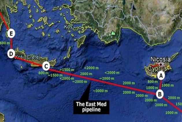 Συνάντηση στο ΥΠΕΚΑ για τον αγωγό φυσικού αερίου East Med