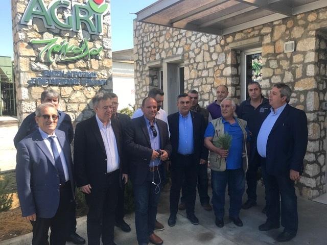 Στις εγκαταστάσεις της ΕΑΣ Τρικάλων περιηγήθηκαν συνεταιριστές από όλη τη χώρα