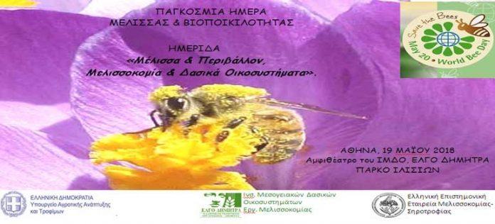 Ημερίδα για τη μελισσοκομία και τα δασικά οικοσυστήματα στις 19 Μαϊου στην Αθήνα