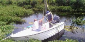 Παράδοση πλωτού σκάφους με κοπτικό μηχάνημα στον ΤΟΕΒ Τρινάσσου