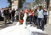 Κλίμα ενότητας στο συλλαλητήριο των κτηνοτρόφων στη Θεσσαλονίκη