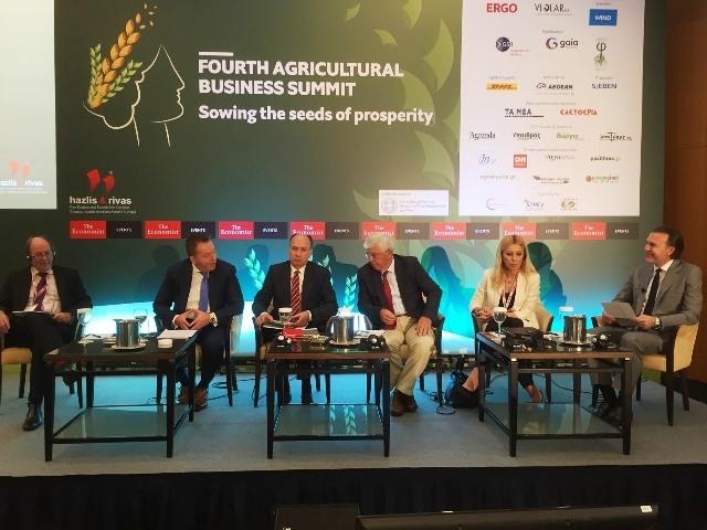 Συνέδριο Economist: Η Ελλάδα και τo μέλλον του Ευρωπαϊκού αγροτικού τομέα στο επίκεντρο των ομιλιών Αποστόλου, Κόκκαλη