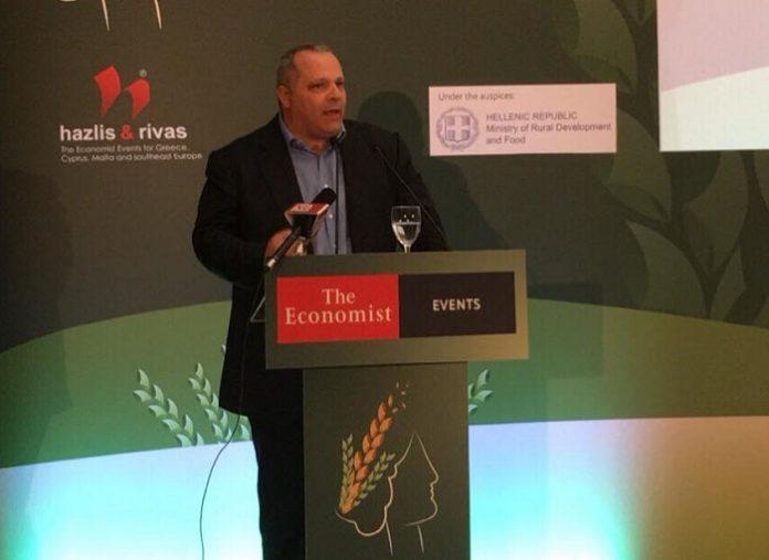 Συνέδριο Economist: Για το εθνικό σχέδιο ανάπτυξης του Αγροτικού Τομέα μίλησε ο CEO της GAIA ΕΠΙΧΕΙΡΕΙΝ Ι. Κουφουδάκης