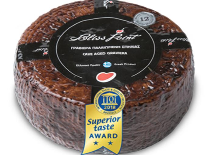 Βραβεία ανώτερης γεύσης για τη γραβιέρα παλαιωμένη σπηλιάς