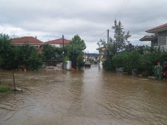 Περίπου 120.000 στρέμματα με καλλιέργειες πλημμύρισαν στον κάμπο του Νέστου