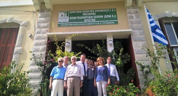 Επίσκεψη σε αγροτικούς συνεταιρισμούς και οργανώσεις της Κρήτης πραγματοποίησε ο Β. Κόκκαλης