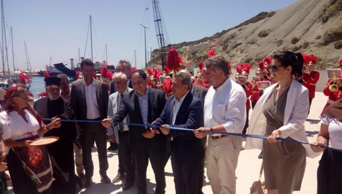 Κέρκυρα: Με λαμπρότητα τα εγκαίνια του λιμανιού της Ερείκουσας