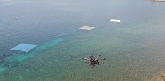 Μυτιλήνη: πείραμα με drones για τον εντοπισμό πλαστικών στη θάλασσα