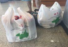Τσάντα από ανακυκλώσιμα απορρίμματα του δήμου Ηρακλείου