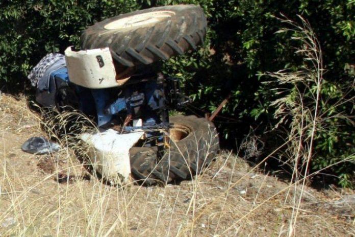 Ημαθία: Νεκρός αγρότης μετά από ανατροπή τρακτέρ