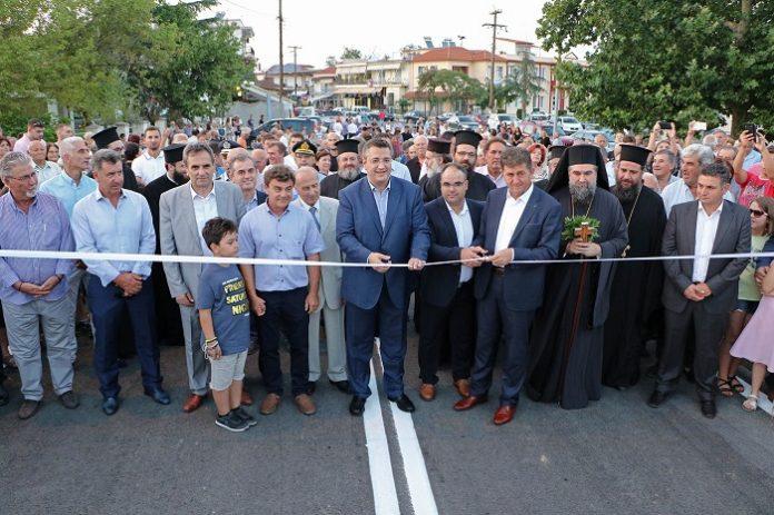 Εγκαινιάστηκε η γέφυρα του Στρυμονικού Σερρών