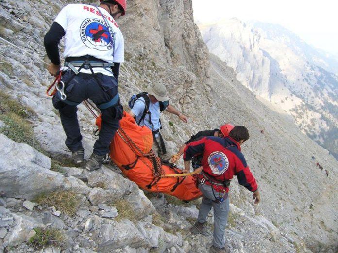 Επιχείρηση απεγκλωβισμού δύο ορειβατών στον Όλυμπο