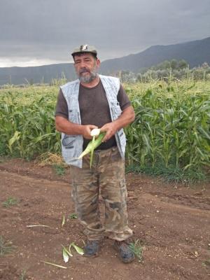 Σεραφείμ Τραμπαδούρος, παραγωγός στην περιοχή του Μεγαπλάτανου