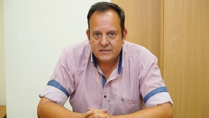 Θάνο Ντούγκο, πρόεδρο του Συνδέσμου Μικρών Οινοπαραγωγών Ελλάδος (ΣΜΟΕ)