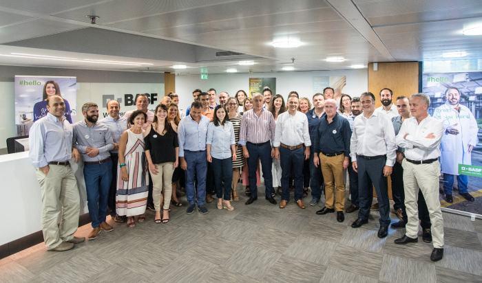 Απo την εκδήλωση υποδοχής των νέων εργαζοµένων που θα στελεχώσουν το Τµήµα Σπόρων της BASF Hellas