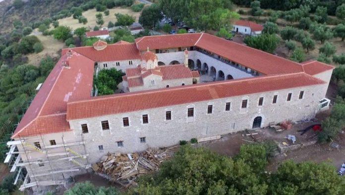 Εγκαίνια της Μονής Βουλκάνου στη Μεσσηνία