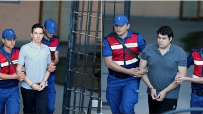 Ελεύθεροι οι δύο Έλληνες στρατιωτικοί που κρατούνταν στην Αδριανούπολη