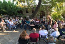 Επίσκεψη Αποστόλου στα καμένα της Εύβοιας