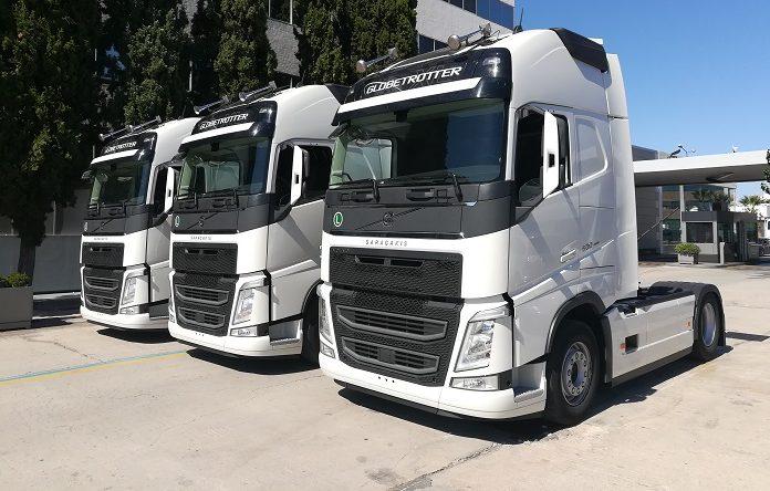 Δεκαπέντε φορτηγά Volvo FH στην εταιρεία Cargo Med Sa