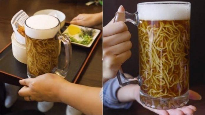 Στον Καναδά, σερβίρουν παγωμένη μπύρα-νουντλς