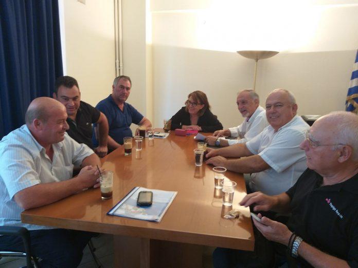 Συνάντηση Ολυμπίας Τελιγιορίδου με το προεδρείο του ΣΕΚ