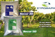 Μείγματα χαλκού σε Λίπασμα ΕΚ στη νέα σειρά προϊόντων της ΕΥΡΩΦΑΡΜ