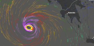 Μεσογειακός κυκλώνας πιθανότατα στο Ν. Ιόνιο την Παρασκευή