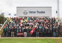Παγκοσμίου κλάσης οδηγοί φορτηγών αγωνίστηκαν για τον τίτλο του Volvo Trucks Driver Challenge 2018