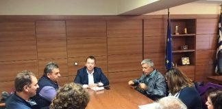 Συνάντηση Κόκκαλη με τη Δ.Ε. του Αγροτικού Συνεταιρισμού «Πυργετού»