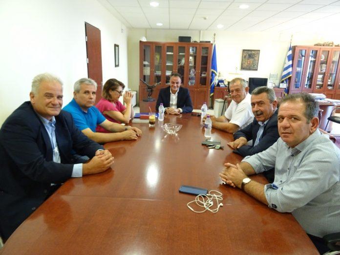 Συνάντηση Τελιγιορίδου - Καρυπίδη: Πρόθεση για τη δημιουργία γραφείου ΕΦΕΤ στη Κοζάνη