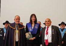 Η CEUCO τιμά την υπουργό τουρισμού με ειδικό βραβείο στο 16ο Ευρωπαϊκό Συνέδριο Γαστρονόμιας και Οίνου