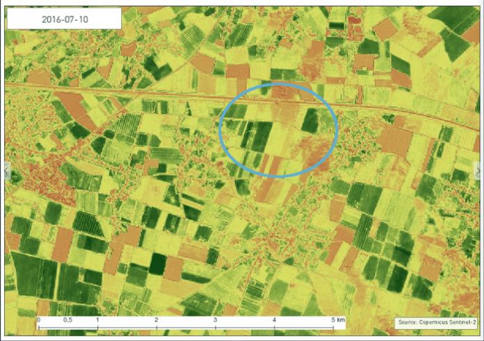 Τα οφέλη από τη χρήση δορυφόρων στον έλεγχο των αγροτεμαχίων