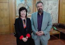 Η εξαγωγή ελληνικών αγροτικών προϊόντων θέμα συζήτησης του Αραχωβίτη με την Πρέσβειρα της Κίνας