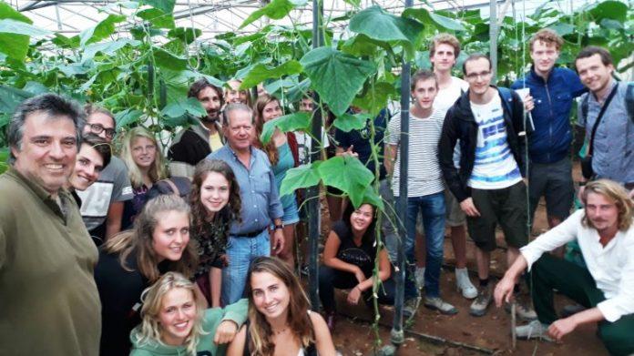 Τις καλλιέργειες της Κισσάμου επισκέφτηκαν φοιτητές του γεωπονικού πανεπιστημίου Wageningen