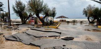 Μεγάλες οι ζημιές από την κακοκαιρία στους δήμους Κιάτου και Βέλου - Βόχας