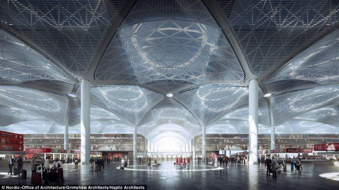 Το νέο αεροδρόμιο της Κωνσταντινούπολης...ένας μελλοντικός παγκόσμιος γίγαντας