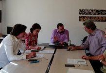 Συνάντηση Αραχωβίτη, με βουλευτές των Χανίων για το φράγμα Βαλσαμιώτη