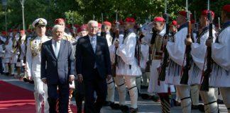 Συνάντηση Παυλόπουλο με τον Γερμανό ομόλογό του: Έχουμε το ίδιο όραμα για την Ευρωπαϊκή Ένωση