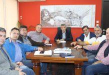 Συνάντηση του Περιφερειάρχη Θεσσαλίας με το Δ.Σ. του Τ.Ο.Ε.Β Πηνειού