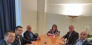 Συνάντηση Τελιγιορίδου με την Ένωση Αυγοπαραγωγών Ελλάδας