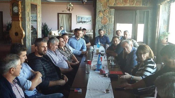 Συνάντηση Τελιγιορίδου με Κλαδικό Συνεταιρισμό Αιγοπροβατοτρόφων Ελλάδας